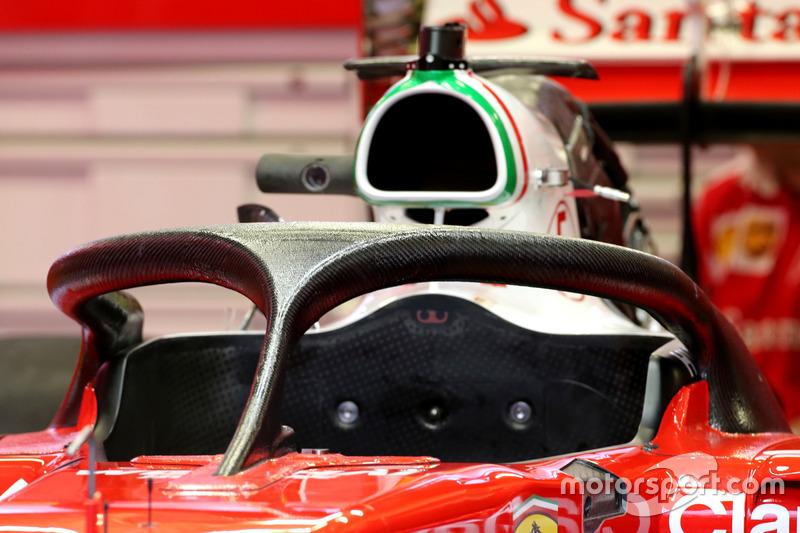 Halo bei Ferrari