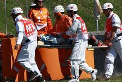 Tito Rabat, Marc VDS Racing después del choque