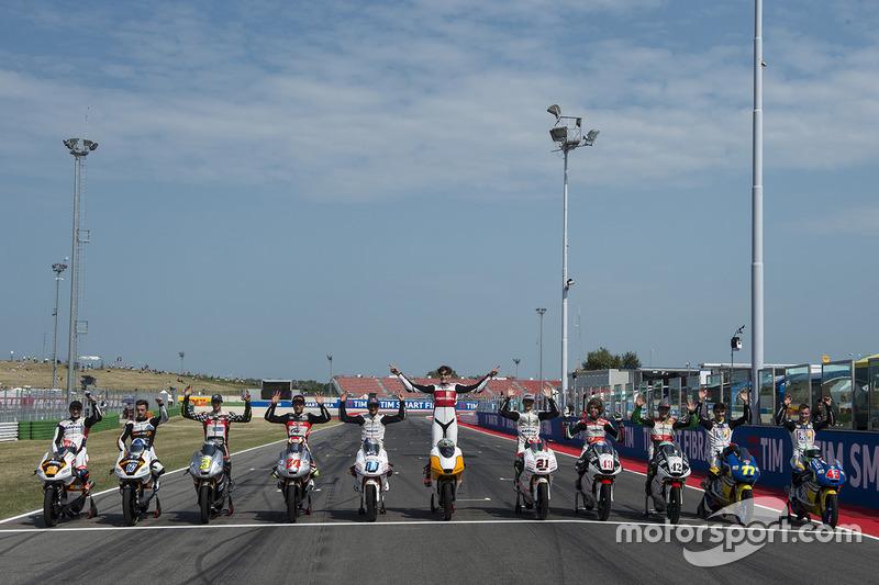 Albert Arenas, Peugeot MC Saxoprint, John McPhee, Peugeot MC Saxoprint, Fabio Spiranelli, CIP, Tatsu