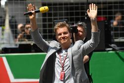 Nico Rosberg, Mercedes-Benz Ambassador on the grid