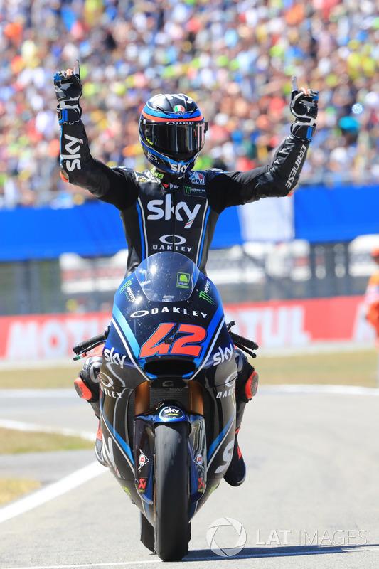 Race winner Francesco Bagnaia, Sky Racing Team VR46