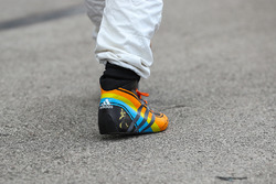 The Racing boot of Fernando Alonso, McLaren