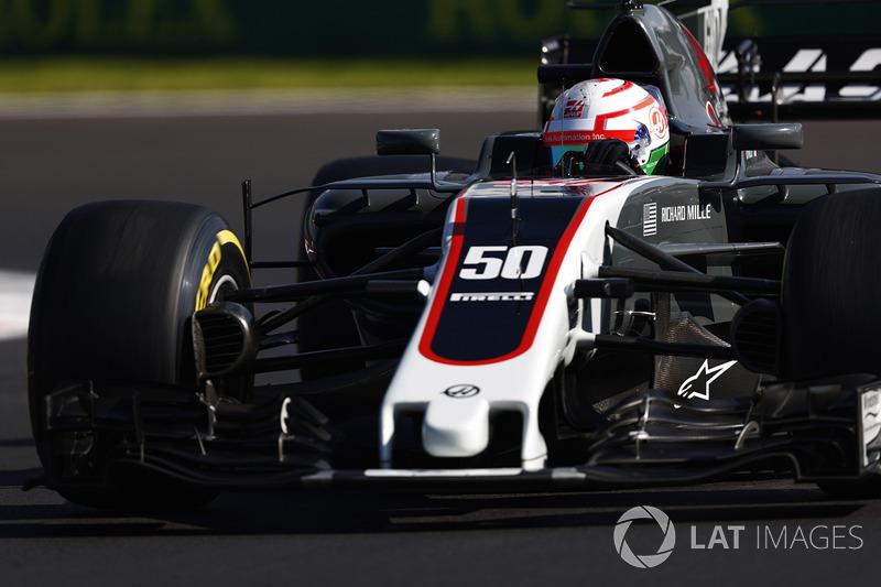 20. Antonio Giovinazzi, Haas F1 Team VF-17