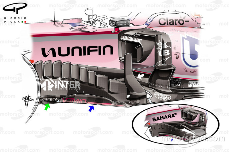 Force India VJM10, Mexiko GP