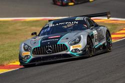 #49 Ram Racing Mercedes-AMG GT3: Salih Yoluc, Euan Hankey, Darren Burke, Felix Rosenqvist