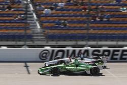 Spencer Pigot, Ed Carpenter Racing Chevrolet, Marco Andretti, Herta - Andretti Autosport Honda