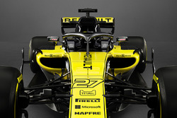 Renault F1 Team RS18 ön detay