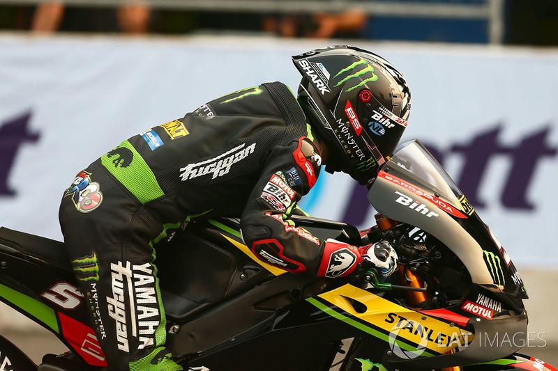 Johann Zarco, Monster Yamaha Tech 3 Inicio de la práctica