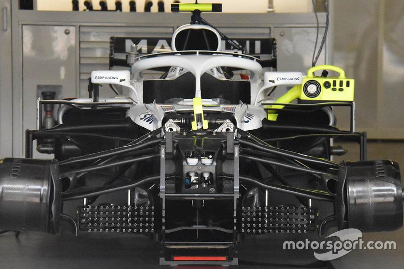Детали передней части Williams FW41