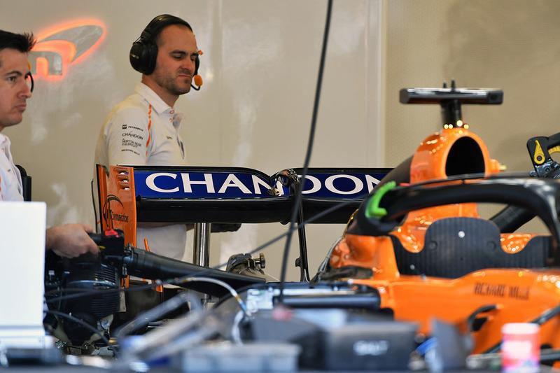 McLaren MCL33 arka kanat