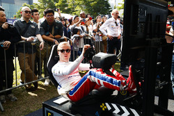 Felix Rosenqvist, Mahindra Racing at en la eRace