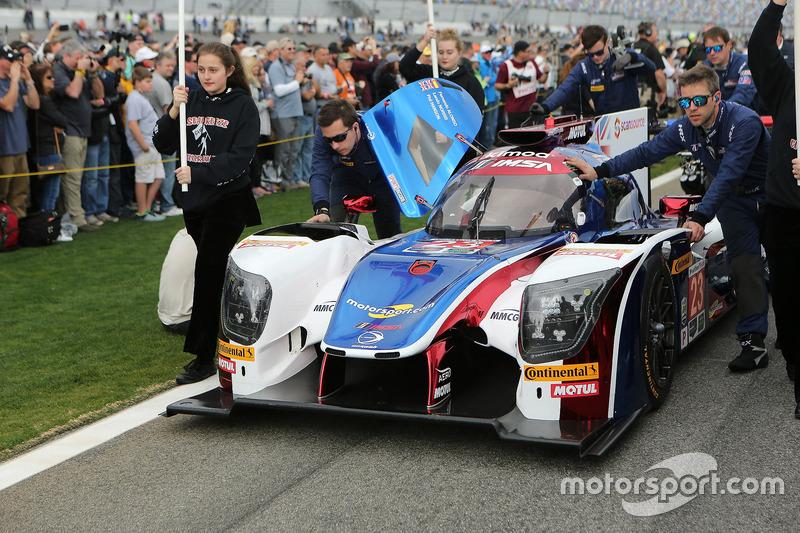 El coche #23 United Autosports Ligier LMP2: Phil Hanson, Lando Norris, Fernando Alonso