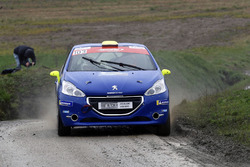 Thomas Schmid, Quentin Marchand, Peugeot 208 Team Rallye Top