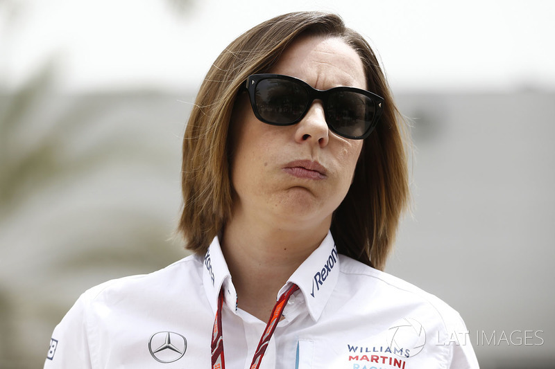 Claire Williams, directrice adjointe Williams