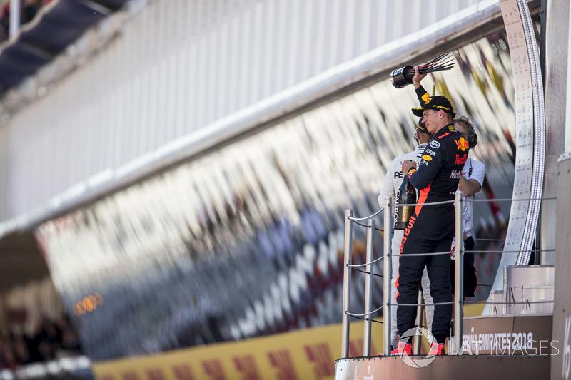 Max Verstappen, derde plaats