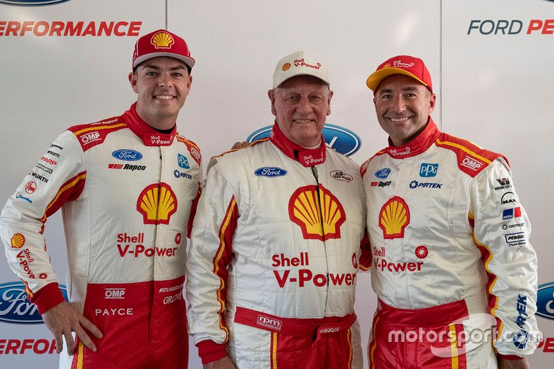 Marcos Ambrose, Dick Johnson, Scott McLaughlin, DJR Team Penske