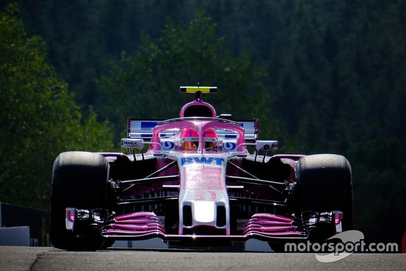 3. Эстебан Окон, Racing Point Force India F1 VJM11 – 2:01.851