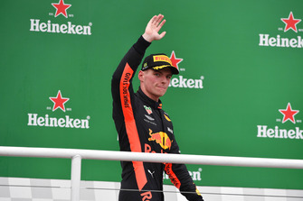 Podyum: Max Verstappen, Red Bull Racing