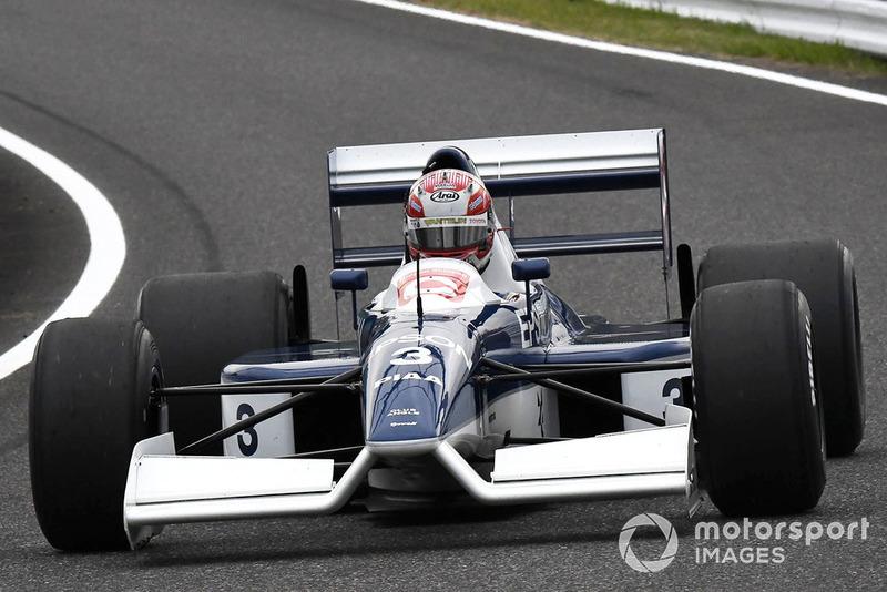 Казуки Накаджима, Tyrrell 017, Legends F1 30th Anniversary Lap Demonstration