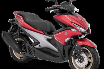 Yamaha Aerox 155 S-Version Matte Red