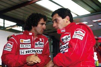 Alain Prost, Ayrton Senna, McLaren