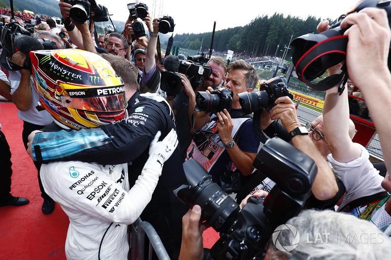 Hamilton venceu pela quinta vez na temporada.