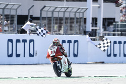 Takaaki Nakagami, Idemitsu Honda Team Asia, wins