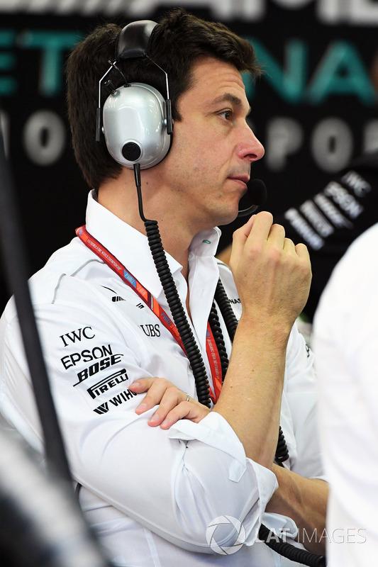 Toto Wolff, Mercedes-Motorsportchef