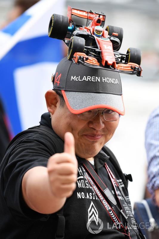 McLaren fan