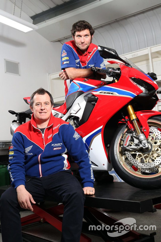 John McGuinness und Guy Martin, Honda Racing