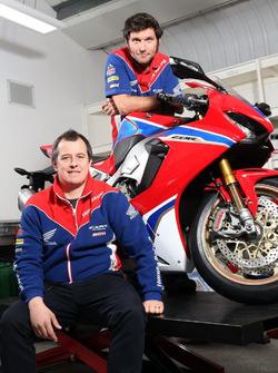 John McGuinness und Guy Martin, Honda Racing