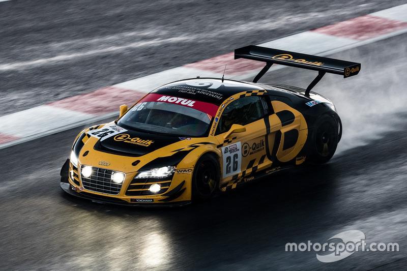 #26 B-Quick Racing Team Audi R8 LMS Cup: Henk Kiks, Daniel Bilski, Peter Kox