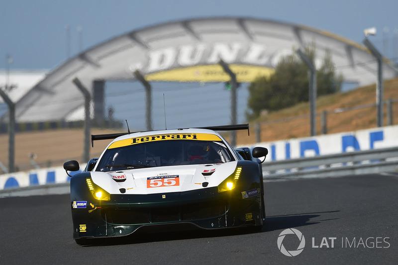 LMGTE-Am: #55 Spirit of Race, Ferrari 488 GTE
