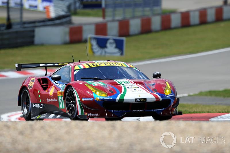 7. LMGTE-Pro: #51 AF Corse, Ferrari 488 GTE