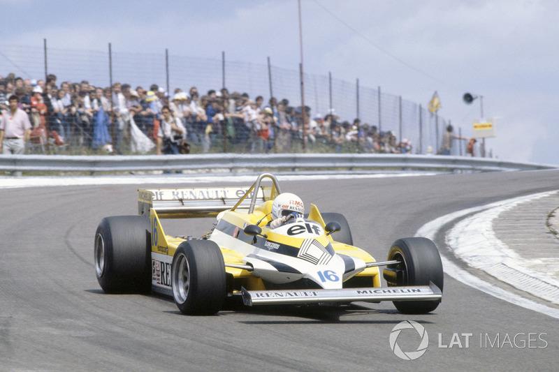 #12: René Arnoux, Renault RE30, Dijon 1981: 1:05,950