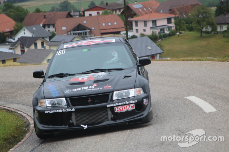 Robert Wicki, Mitsubishi Evo RS2, Equipe Bernoise