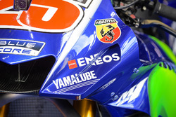 Bike detail of Maverick Viñales, Yamaha Factory Racing