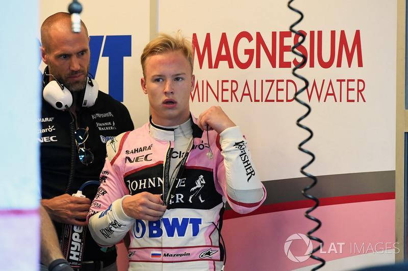 Никита Мазепин, Force India