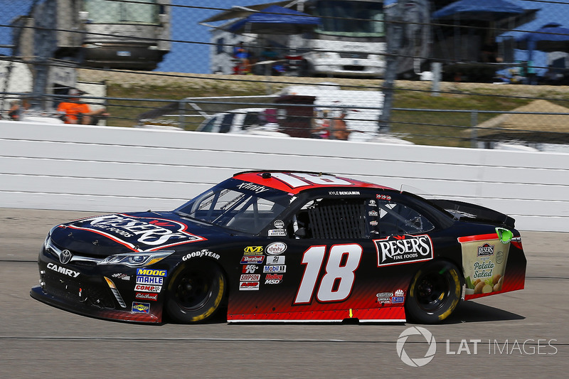 Kyle Benjamin, Joe Gibbs Racing Toyota