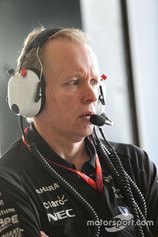 Andrew Green, Force India F1 Team, Technikchef
