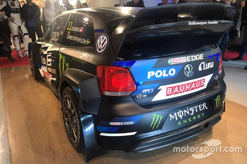 Auto von Petter Solberg, Johan Kristoffersson, PSRX Volkswagen Sweden, Volkswagen Polo GTI
