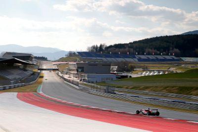 Red Bull Ring, test di marzo