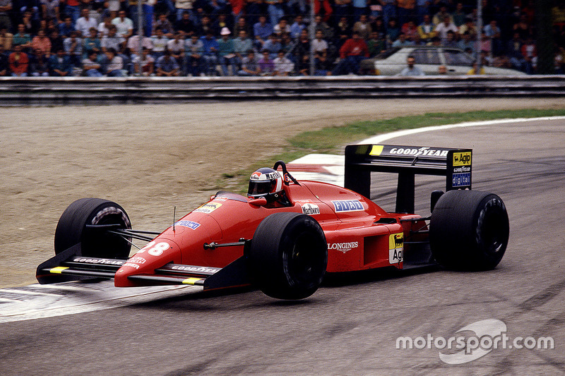 #28: Gerhard Berger, Ferrari F187