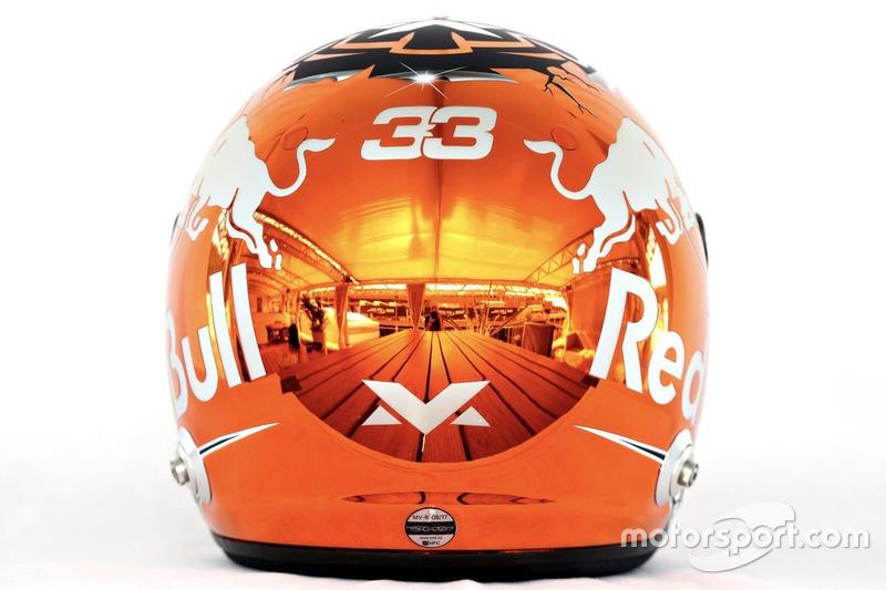 Helm Max Verstappen, Red Bull Racing