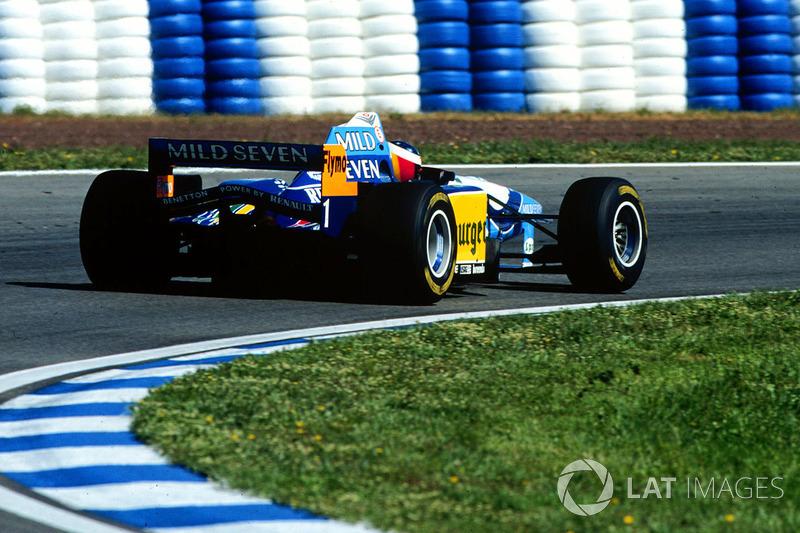8. España 1995, Benetton B195