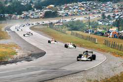 Ronnie Peterson, Lotus 72E Ford, Jody Scheckter, McLaren M23 Ford, Niki Lauda, BRM P160E