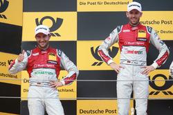 1. René Rast, Audi Sport Team Rosberg, Audi RS 5 DTM; 2. Mike Rockenfeller, Audi Sport Team Phoenix, Audi RS 5 DTM
