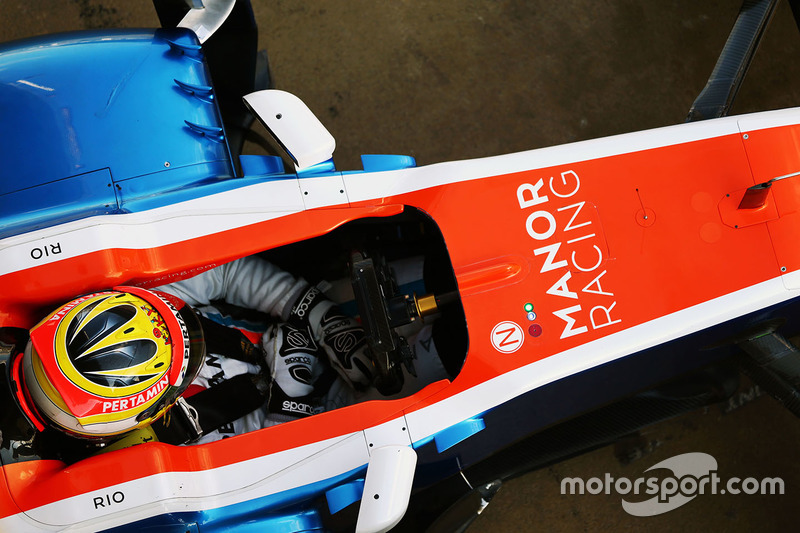 4. Rio Haryanto, Manor Racing MRT05