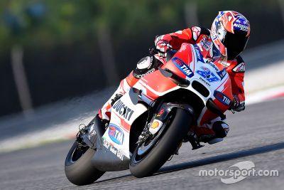 Ducati GP16 shakedown