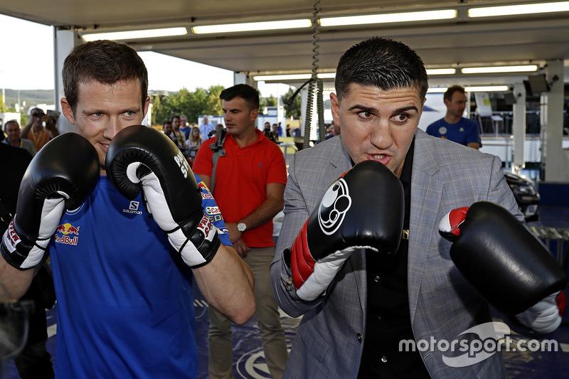 Sébastien Ogier, Marco Huck, boxer